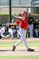 Taylor Lindsey - Los Angeles Angels - 2010 Instructional League.Photo by:  Bill Mitchell/Four Seam Images..