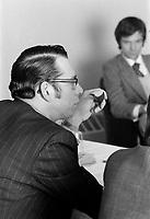 Camil Samson<br /> , 9 janvier 1973<br /> <br /> PHOTO :  Alain Renaud<br />  - Agence Quebec Presse