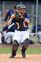 March 22, 2010:  Catcher Christopher Chiarappa (5) of the Long Island Storm during a game at the Carl Barger Training Complex in Melbourne, FL.  Photo By Mike Janes/Four Seam Images