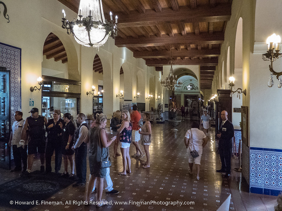 Lobby of the Hotel Nacional