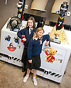 ::  NINA JOHNSTON AND REGANE LADE FROM LARBERT VILLAGE PRIMARY SCHOOL OFFICIALLY NAME THE FIRST TWO ROBOTS BETSY AND RUPERT AT FORTH VALLEY ROYAL INFIRMARY :: BOTH GIRLS WERE SELECTED AFTER ENTERING THE COMPETITION ORGANISED BETWEEN SERCO AND THEIR SCHOOL :: NINA NAMED BETSY AND REGANE NAMED RUPERT ::