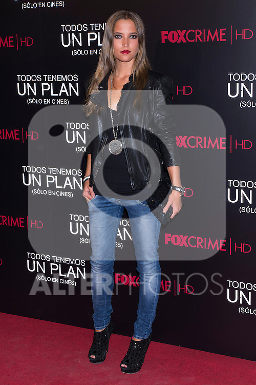 05.09.2012. Premier at the Capitol Cinema in Madrid of the movie ´Todos tenemos un Plan´.. Directed by Ana Piterbag and starring by Viggo Mortensen, Soledad Villamil and Javier Godino. In the image Ana Fernandez (Alterphotos/Marta Gonzalez)