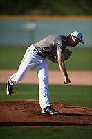 Tim Wynia (11) of Liberty High School in Plano, Texas during the Baseball Factory All-America Pre-Season Tournament, powered by Under Armour, on January 13, 2018 at Sloan Park Complex in Mesa, Arizona.  (Mike Janes/Four Seam Images)