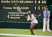 22-06-11, Tennis, England, Wimbledon, Venus Williams