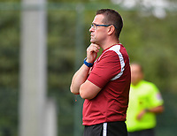 ssistant coach Raymond Loose of Eendracht Aalst pictured during a female soccer game between Standard Femina de Liege and Eendracht Aalst dames on the fourth matchday in the 2021 - 2022 season of the Belgian Scooore Womens Super League , Saturday 11 th of September 2021  in Angleur , Belgium . PHOTO SPORTPIX   BERNARD GILLET
