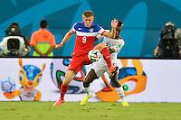 Natal, Brazil - Monday, June 16, 2014: The USMNT defeated Ghana 2-1 during group play at Estádio das Dunas.