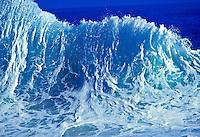Backwash wave, Lumahai beach, Kauai