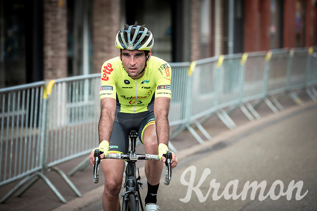 Bingoal Cycling Cup overall classification winner Baptiste Planckaert (BEL/Wallonie Bruxelles), post race  <br /> <br /> 23th Memorial Rik Van Steenbergen 2019<br /> One Day Race: Beerse > Arendonk 208km (UCI 1.1)<br /> ©kramon