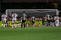 São Paulo, SP, 13.10.2019: São Paulo-Corinthians - Reinaldo, do São Paulo comemora gol, em partida contra o Corinthians, válida pela 25ª rodada do Campeonato Brasileiro, no Estádio do Morumbi, em São Paulo (SP), neste domingo (13).