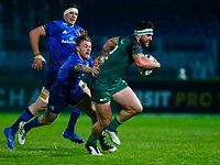 2nd January 2021; RDS Arena, Dublin, Leinster, Ireland; Guinness Pro 14 Rugby, Leinster versus Connacht; Tom Daly of Connacht makes a run to the try line
