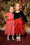 Niamh Holmes,6, and Kyla Dickson,6, at the opening night of The Nutcracker at the Wortham Theater Friday Nov. 27,2009. (Dave Rossman/For the Chronicle)