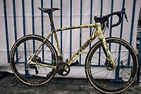 Thijs Aerts' (BEL/Telenet Fidea Lions) bike post-race<br /> <br /> U23 Men's Race<br /> CX Vlaamse Druivencross Overijse 2017