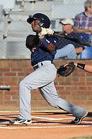 Jamaal Hawkins  during the Appalachian League Championship. Johnson City  won 6-2 at Howard Johnson Field, Johnson City Tennessee. Photo By Tony Farlow/Four Seam Images.