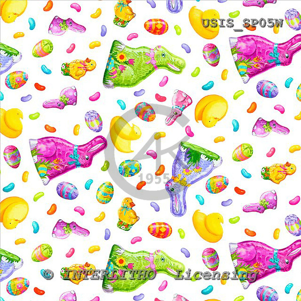 Ingrid, EASTER, OSTERN, PASCUA, gift wraps, Geschenkpapier, papel de regalo, paintings+++++,USISSP05W,#E#