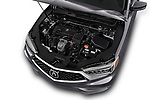 Car stock 2020 Acura TLX AUTO 4 Door Sedan engine high angle detail view