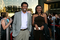 2011 File Photo - World Film Festival Red Carpet - Dany Laferriere and actress