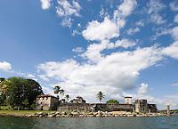 Guatemala, Castillo San Felipe de la Lara am Rio Dulce/Izabal-See