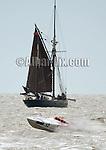 Offshore powerboat racing in Lowestoft, Suffolk
