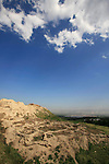 Israel, Beth Shean. Remains of an ancient settlement on Tel Beth Shean, twenty settlement strata were discovered on the tel