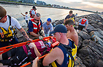 Manasquan Inlet Jetty Rescue Drill August 2019