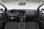 Stock photo of straight dashboard view of 2020 Renault Megane Intens 5 Door Wagon Dashboard