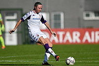 Louise Quinn of ACF Fiorentina in action during the women Serie A football match between AS Roma and ACF Fiorentina at Tre Fontane Stadium in Roma (Italy), November 7th, 2020. Photo Andrea Staccioli / Insidefoto