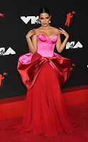 NEW YORK, NY- SEPTEMBER 12: Camila Cabello at the 2021 MTV Video Music Awards at Barclays Center on September 12, 2021 in Brooklyn,  New York City. <br /> CAP/MPI/JP<br /> ©JP/MPI/Capital Pictures