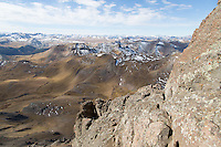 Below the Wetterhorn summit