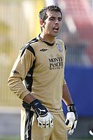 Gianluca Curci Siena<br /> La Spezia 16/08/2008 Calcio <br /> Siena Sampdoria <br /> Foto Insidefoto