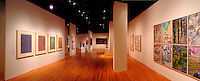 Interior of a gallery at the Hawaii State Art Museum in downtown Honolulu.