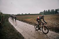 Wout van Aert (BEL/Jumbo-Visma)<br /> <br /> 118th Paris-Roubaix 2021 (1.UWT)<br /> One day race from Compiègne to Roubaix (FRA) (257.7km)<br /> <br /> ©kramon