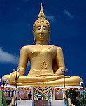 Thailand, island Ko Samui, Big Buddha at peninsula Ko Fan
