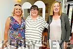 Helen Walsh, Caroline Herlihey and Margaret O'Mahoney enjoying the evening in Bella Bia on Saturday.