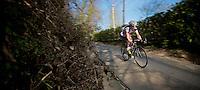 Dwars door Vlaanderen 2012.Frederik Willems going downhill fast