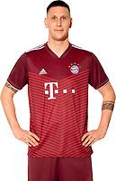 29th August 2021; Munich, Germany; FC Bayern Munich official team portraits for season 2021-22:  Niklas Suele