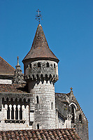 Europe/Europe/France/Midi-Pyrénées/46/Lot/Rocamadour: Cité religieuse - Le Palais des Evèques