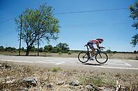 Adam Hansen (AUS/Lotto-Soudal) speeding along<br /> <br /> stage 13 (ITT): Bourg-Saint-Andeol - Le Caverne de Pont (37.5km)<br /> 103rd Tour de France 2016