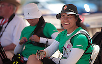 Alejandra Valencia, Mariana Avitia  ,durante su prticipacion con el equipo Mexicano femenil de Tiro con Arco que se llevo la medalla de Oro en la prueba de 70 metros   de el  torneo  Arizona Cup 2013 en  BEN Avery. 6 abril 2013 en Phoenix Arizona......during his prticipacion with Mexican women's team archery that took the gold medal in the 70 meter test the Arizona Cup tournament 2013 in Ben Avery. April 6, 2013 in Phoenix Arizona