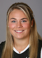 STANFORD, CA - NOVEMBER 4:  Paige Farmakis of the Stanford Cardinal lacrosse team poses for a headshot on November 4, 2008 in Stanford, California.