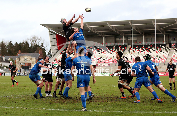 15 January 2021; Conor McMenamin during the A Interprovincial match between Ulster and Leinster at Kingspan Stadium in Belfast. Photo by John Dickson/Dicksondigital