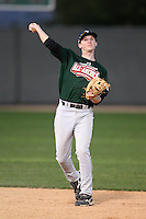 January 16, 2010:  Parker Asmann (Hawthorn Woods, IL) of the Baseball Factory Central Team during the 2010 Under Armour Pre-Season All-America Tournament at Kino Sports Complex in Tucson, AZ.  Photo By Mike Janes/Four Seam Images