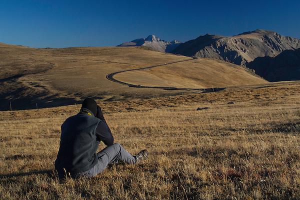 Longs Peak and Trail Ridge Road, Rocky Mountain National Park, Colorado.