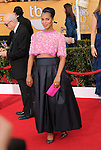 Kerry Washington attends The 20th SAG Awards held at The Shrine Auditorium in Los Angeles, California on January 18,2014                                                                               © 2014 Hollywood Press Agency