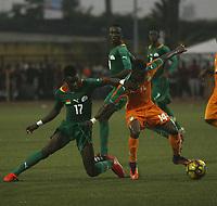 Jeux de la Francophonie, Compétition de Fooball - Côte d'Ivoire / Burkina Faso au stade Robert Champroux de Marcory - 23 juillet 2017, Abidjan