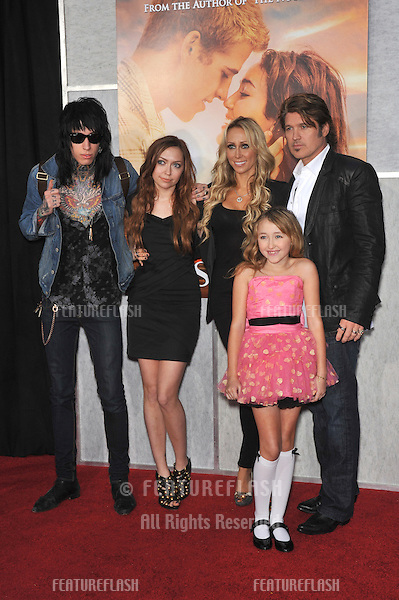 """Billy Ray Cyrus & family at the world premiere of """"The Last Song"""" at the Arclight Theatre, Hollywood..March 25, 2010  Los Angeles, CA.Picture: Paul Smith / Featureflash"""
