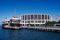 River Boat , Cobo Hall , Detroit River , Detroit, Michigan