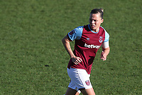 Gilly Flaherty of West Ham during West Ham United Women vs Brighton & Hove Albion Women, Barclays FA Women's Super League Football at the Chigwell Construction Stadium on 15th November 2020