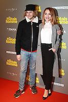 """Joy Esther, Jean-Baptiste Shelmerdine - Avant-premiËre du film """"Si j'etais un homme"""" au Cinema OpÈra - Paris, France - 21/02/2017"""