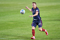 CHICAGO, UNITED STATES - AUGUST 25: Robert Beric #27 of Chicago Fire chases a loose ball during a game between FC Cincinnati and Chicago Fire at Soldier Field on August 25, 2020 in Chicago, Illinois.