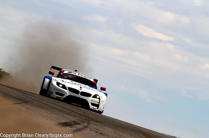 #56 BMW John Edwards, Dirk Muller, IMSA Tudor Series Race, Road America, Elkhart Lake, WI, August 2014.  (Photo by Brian Cleary/ www.bcpix.com )
